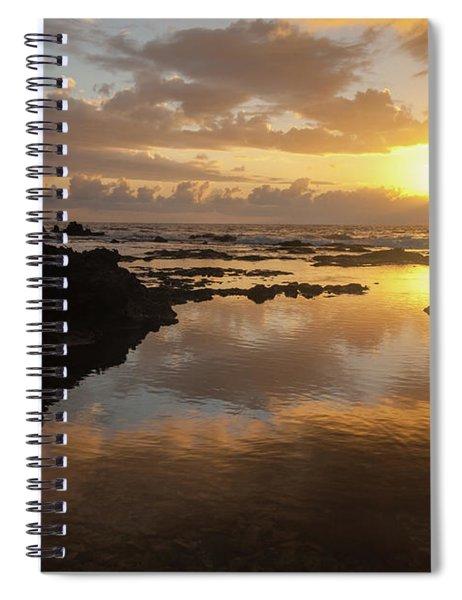 Lanai Sunset #1 Spiral Notebook