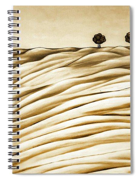 Land Spiral Notebook