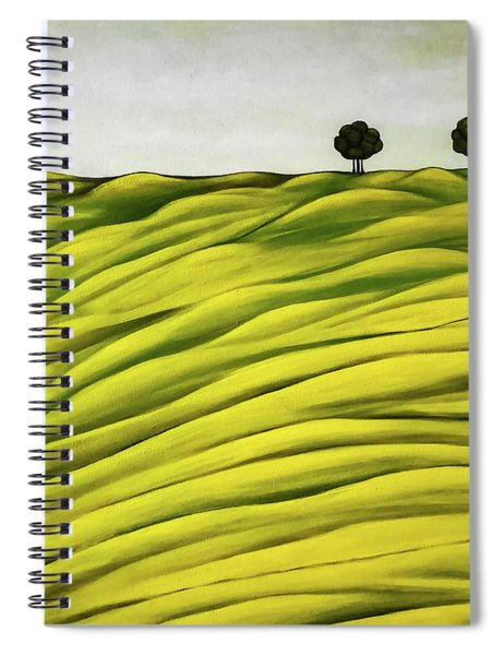 Land Of Breather Spiral Notebook