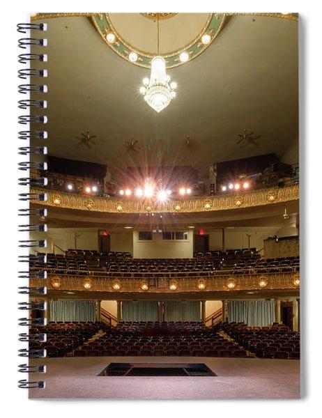 Landers Theatre Spiral Notebook