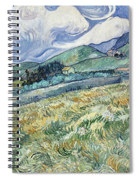 Landscape From Saint Remy  Spiral Notebook