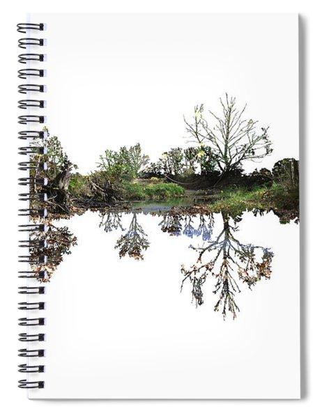 Landscape Minimalism Spiral Notebook