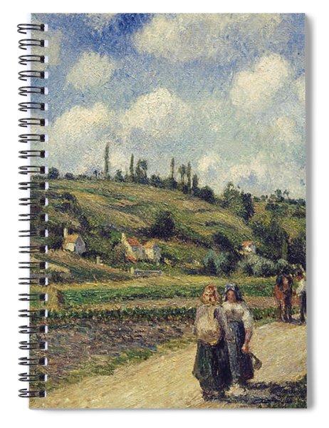 Landscape Near Pontoise Spiral Notebook