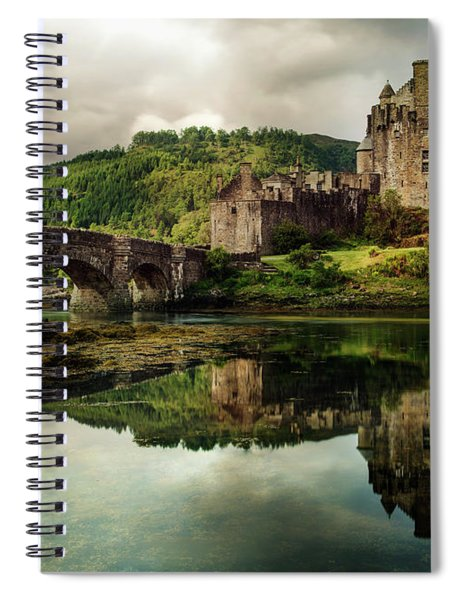Landscape With An Old Castle Spiral Notebook