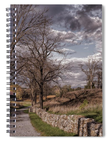 Lane Into History Spiral Notebook