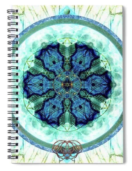 Language Of Love Spiral Notebook