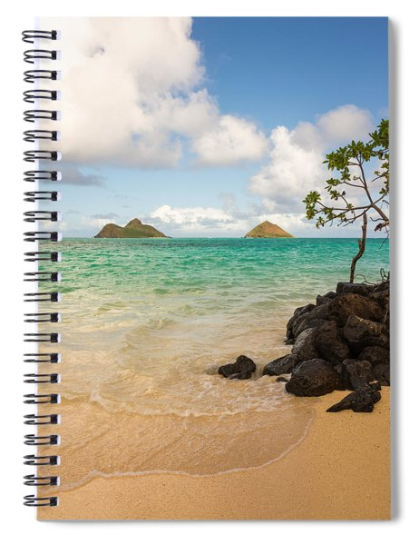 Lanikai Beach 1 - Oahu Hawaii Spiral Notebook