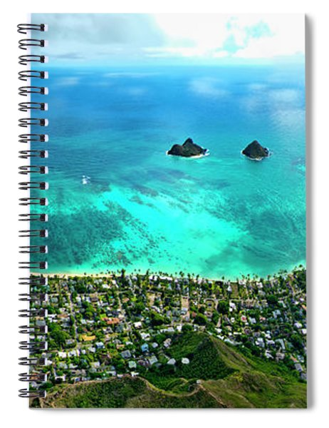 Lanikai Over View Spiral Notebook