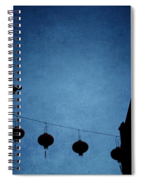 Lanterns- Art By Linda Woods Spiral Notebook