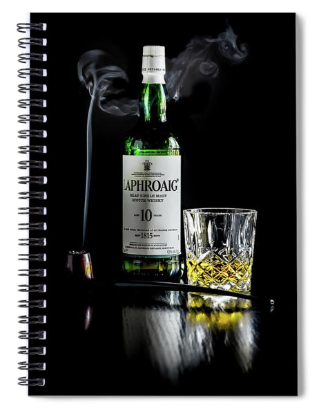Whiskey And Smoke Spiral Notebook