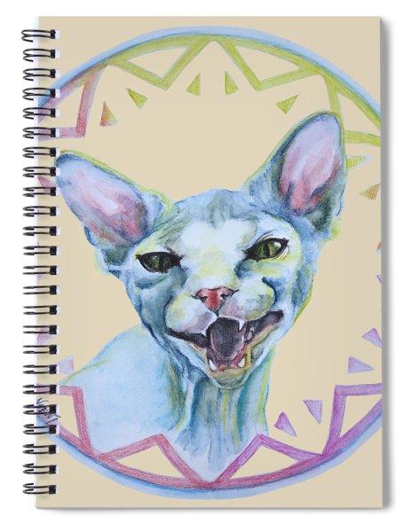 Lara Cat Spiral Notebook