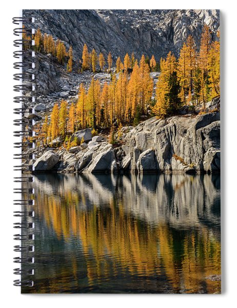 Larch Reflection In Enchantments Spiral Notebook