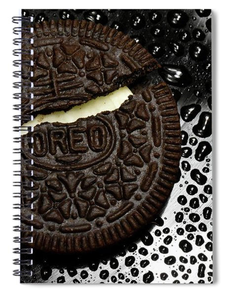 Large Oreo Cookie 1  Spiral Notebook