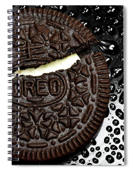 Large Oreo Cookie 2 Spiral Notebook