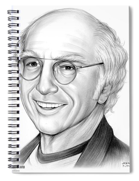 Larry David Spiral Notebook