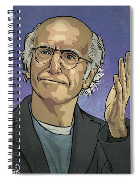 Larry David Spiral Notebook