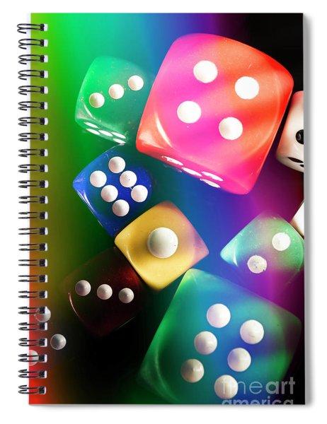 Las Vegas Art Spiral Notebook