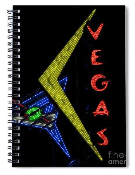 Las Vegas Neon Sign Spiral Notebook