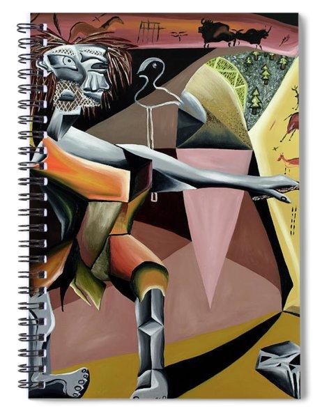 Lascaux Spiral Notebook