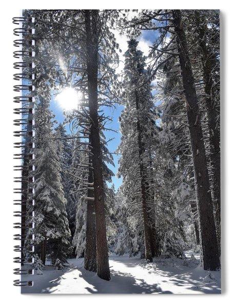 Lassen National Forest Spiral Notebook