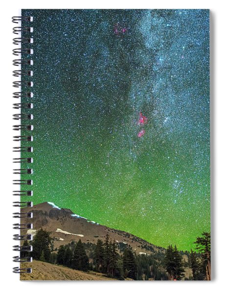 Lassen Nights Spiral Notebook