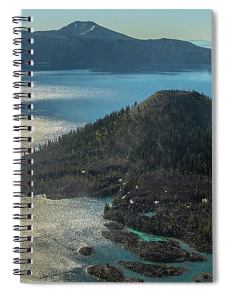 Last Crater View Spiral Notebook