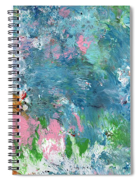 Last Dance- Abstract Art By Linda Woods Spiral Notebook