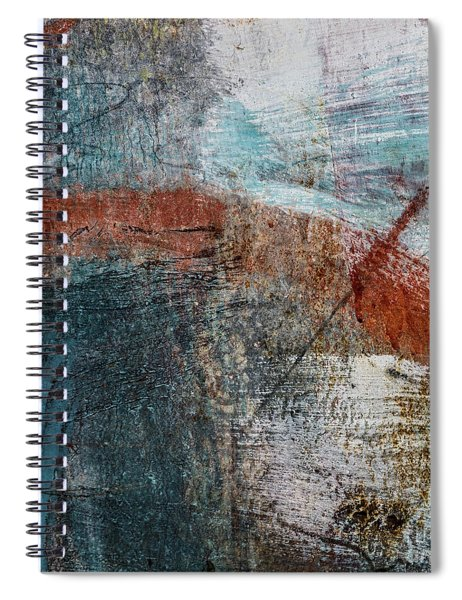 Last For A While Spiral Notebook