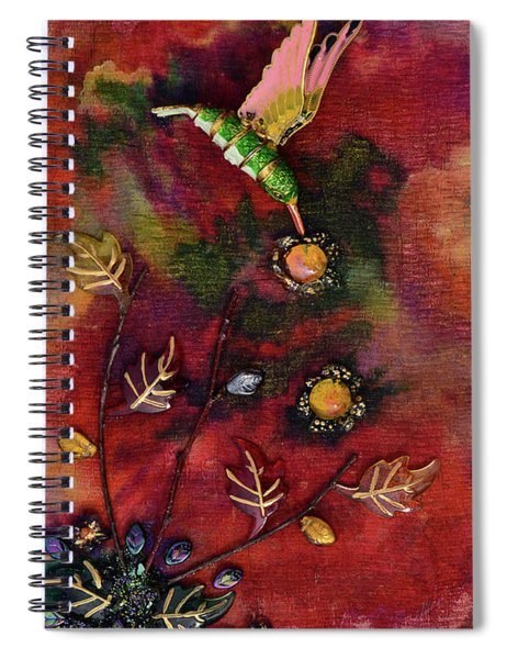 Last Nectar Of Autumn Spiral Notebook