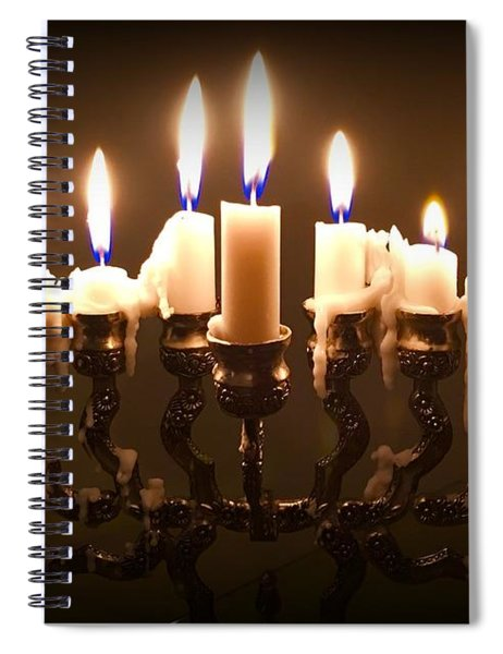 Last Night Of Chanukah Spiral Notebook