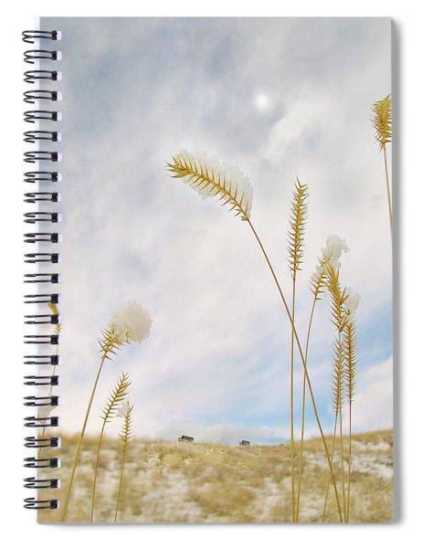 Last Snow Spiral Notebook