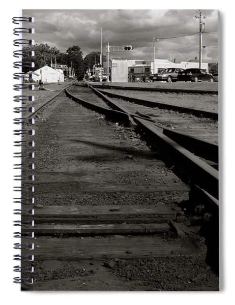 Last Train Track Out Spiral Notebook