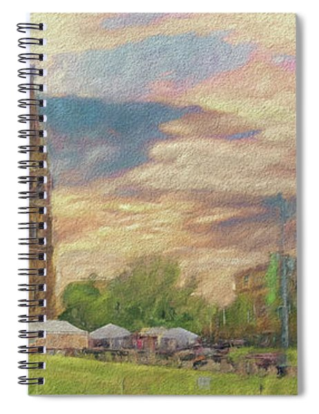 Lasting Impression - Prague Spiral Notebook