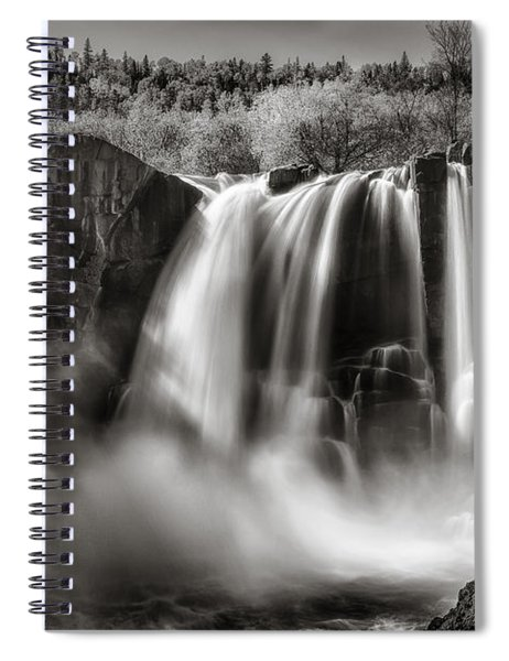Late Afternoon At The High Falls Spiral Notebook