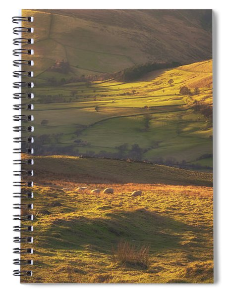 Late Afternoon In Edale Spiral Notebook