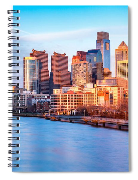 Late Afternoon In Philadelphia Spiral Notebook