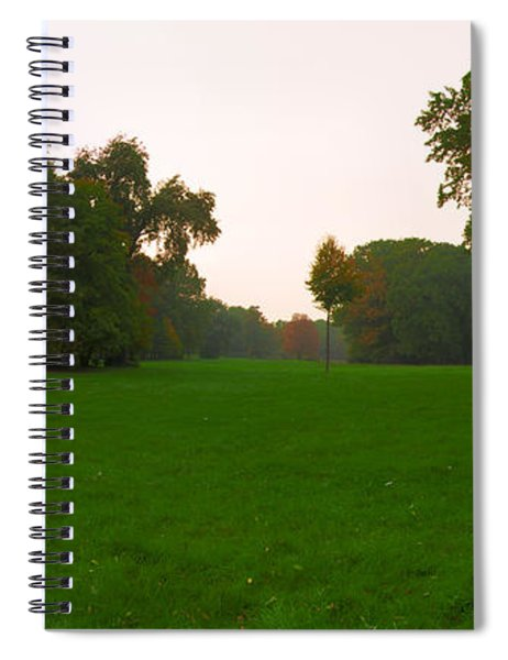 Late Afternoon In The Park Spiral Notebook