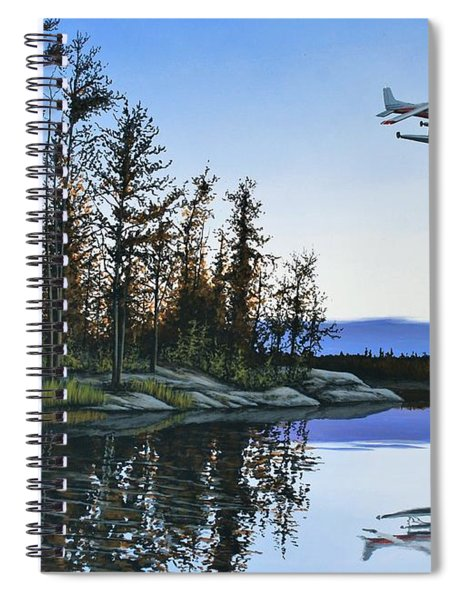 Late Arrival Spiral Notebook