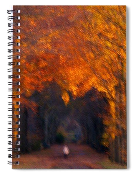 Late Nature Walk. Spiral Notebook