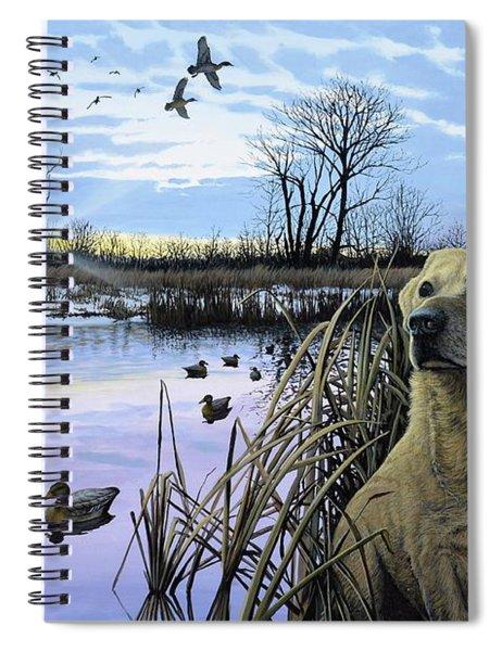 Late Season Mallards Spiral Notebook