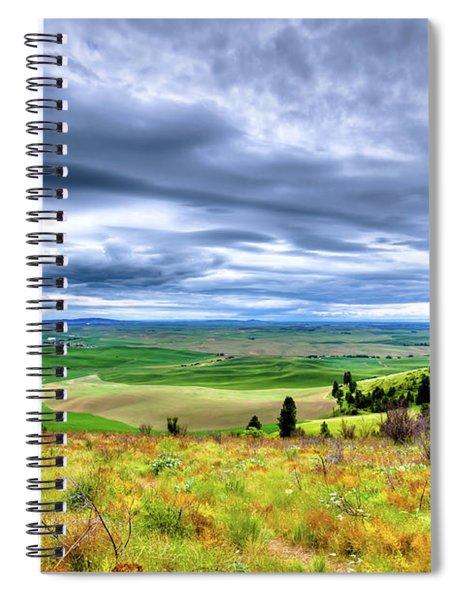 Late Spring On Kamiak Butte Spiral Notebook