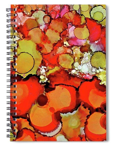 Late Summer Flowers Spiral Notebook