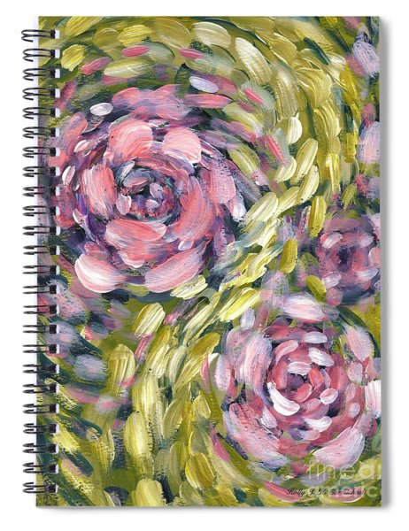 Late Summer Whirl Spiral Notebook