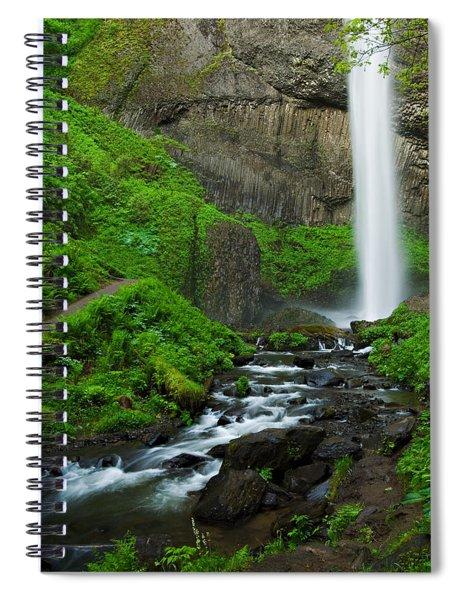 Latourell Falls Oregon Spiral Notebook