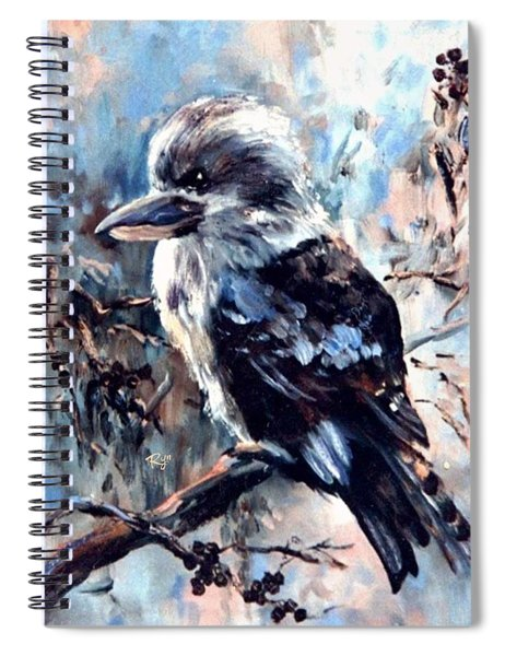 Laughing Kookaburra Spiral Notebook
