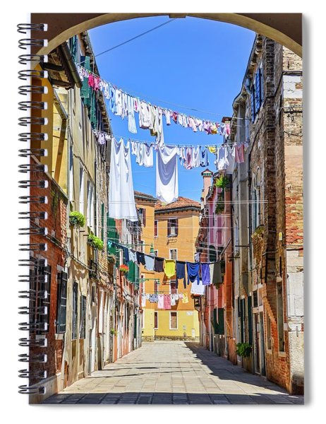 Laundry Day Spiral Notebook