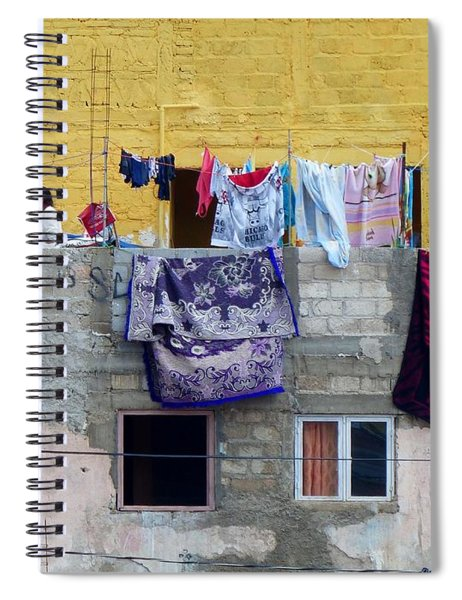 Laundry In Guanajuato Spiral Notebook