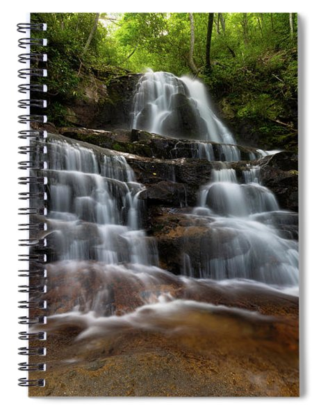Laurel Falls Great Smoky Mountains Tennessee Spiral Notebook
