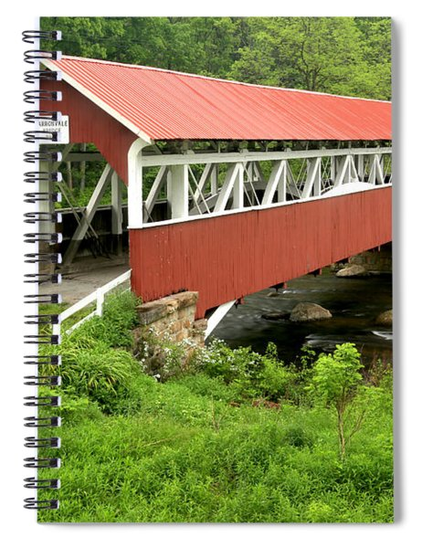 Laurel Hill Creek Historic Crossing Spiral Notebook