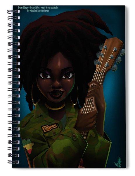 Lauryn Hill Spiral Notebook